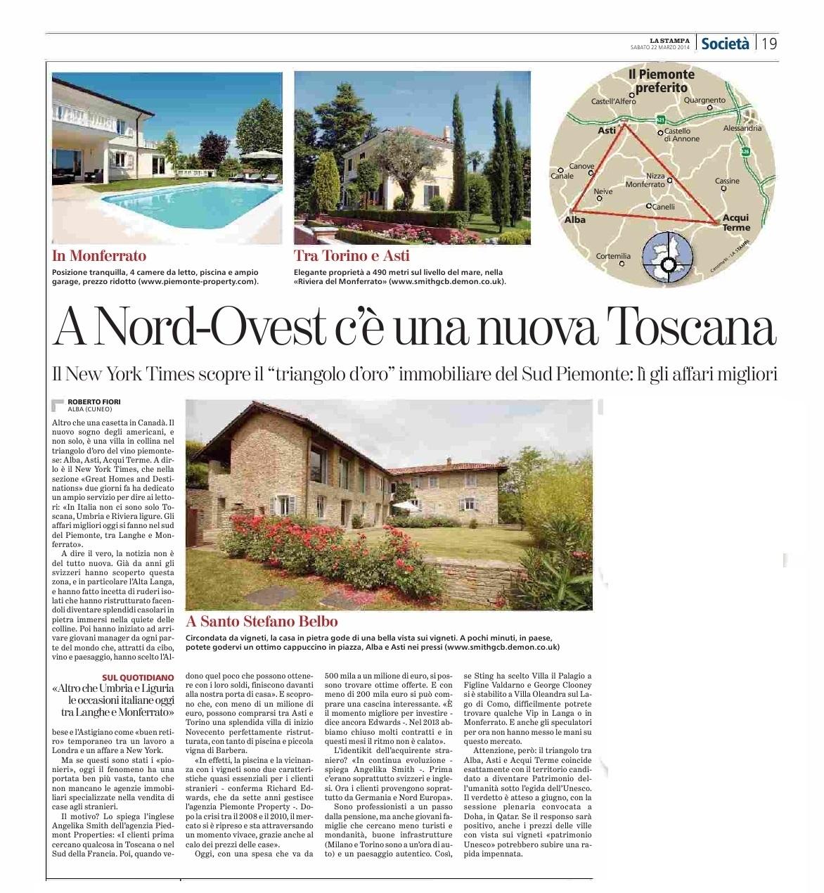 La Stampa 2014-03-22