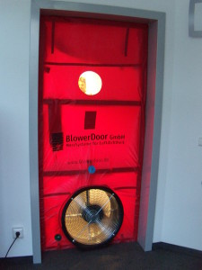 Ventola per Blower Door Test